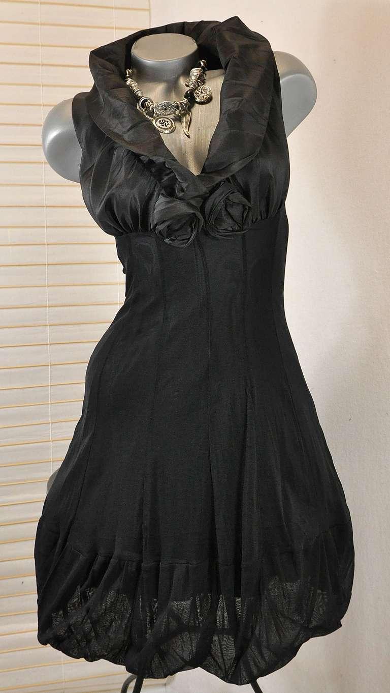 chickes etuikleid cocktail kleid xl kragen schwarz 36 38 ebay. Black Bedroom Furniture Sets. Home Design Ideas