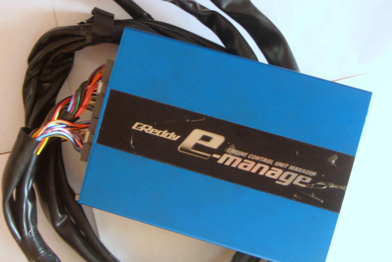 TRUST GReddy E-Manage Blue Piggy back ecu + universal harness