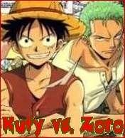 Rufy vs. Zoro